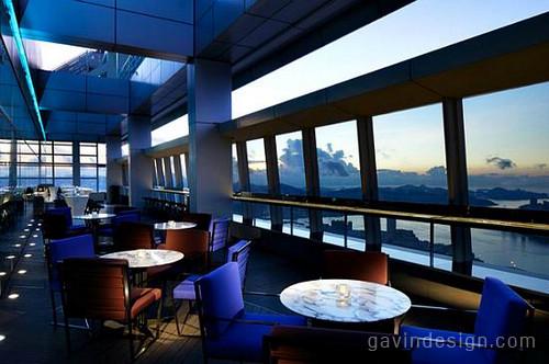 香港丽嘉酒店ozone酒吧设计 酒吧设计 商业空间设计