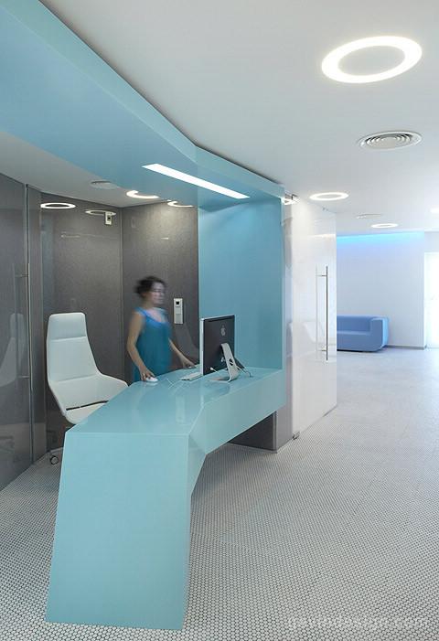 Embryocare妇科诊所室内设计 诊所设计