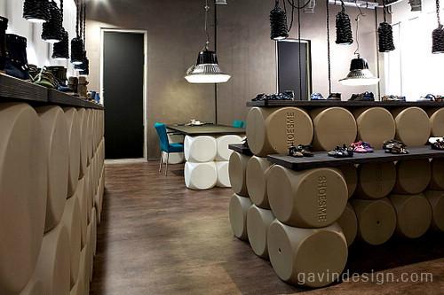 荷兰Shoesme Shop鞋店设计 鞋店设计 店面设计