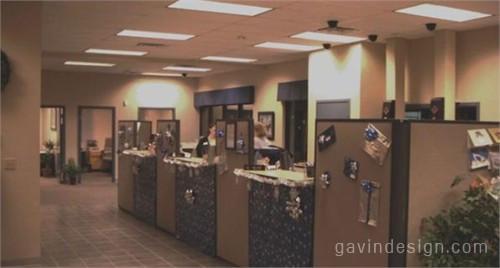 华盛顿商业银行室内设计 银行设计
