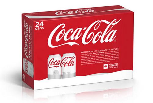 可口可乐北极熊 包装设计 包装设计