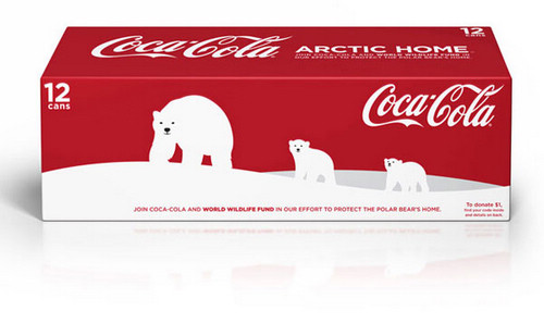 可口可乐北极熊-包装设计