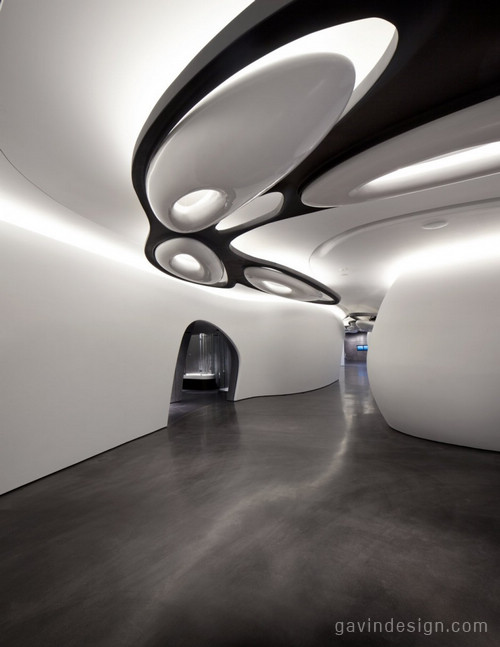 新罗加伦敦画廊室内设计