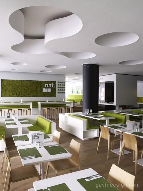 德国汉堡NAT生态餐厅 商业空间设计 餐厅设计 商业空间设计