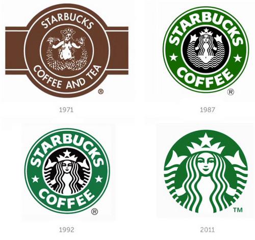 星巴克STARBUCKS最新品牌形象设计 品牌形象设计