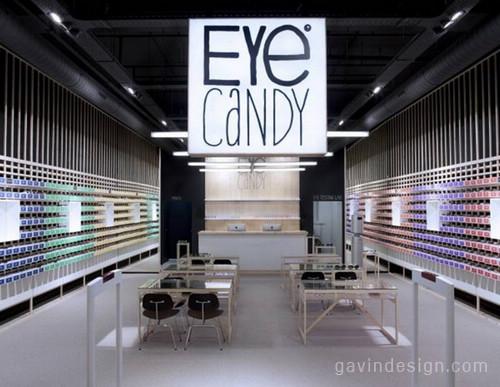 比利时Eye Candy眼镜商店 商业空间设计 连锁店设计 商业空间设计