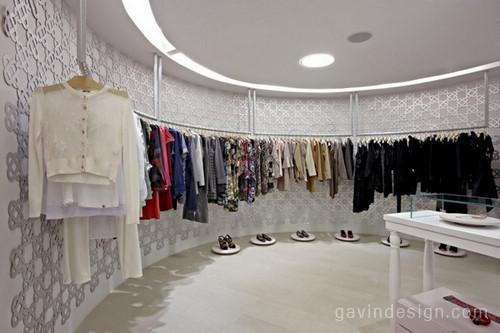 HI LO时尚女装店面设计 店面设计 女装店设计