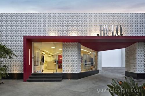 HI LO时尚女装店面设计 店面设计 女装店面设计