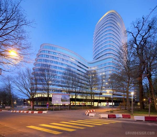 EEA & tax办公大厦建筑设计 办公楼设计