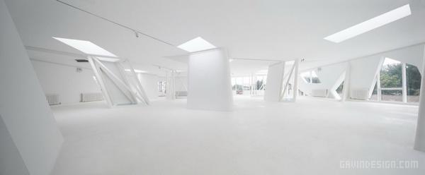 北京 798 艺术空间设计 Thanlab Office 画廊设计 景观设计