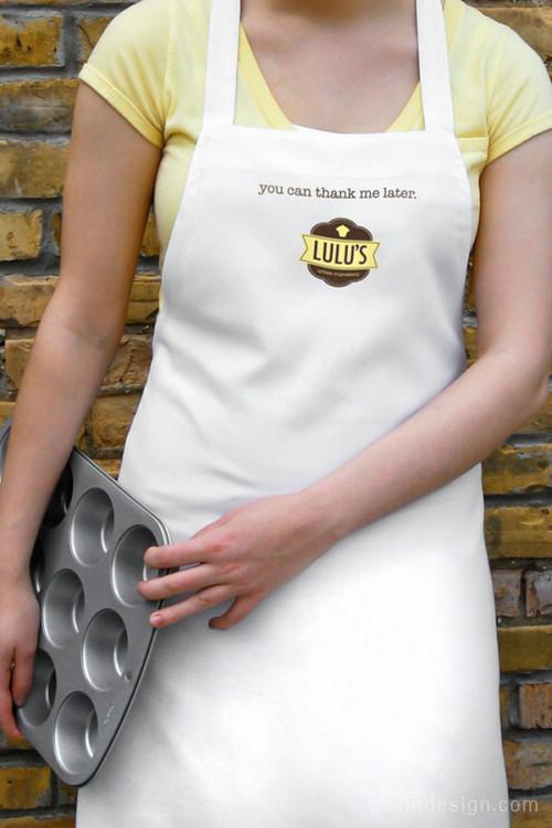奶油黄的优雅:Lulus蛋糕店品牌设计 餐厅设计 包装设计