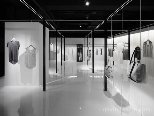 日本BEIGE 品牌女装店面设计 女装店设计 专卖店设计