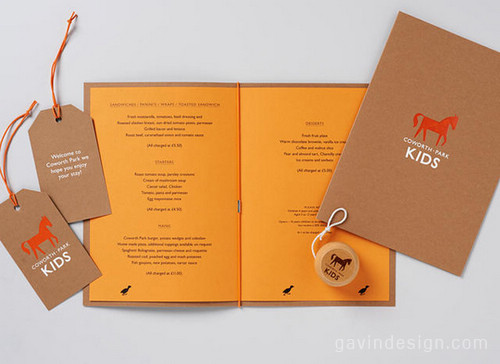 英国Coworth Park 酒店VI设计 画册设计 名片设计 包装设计 VI设计
