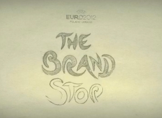2012欧洲杯Logo的故事 标识设计