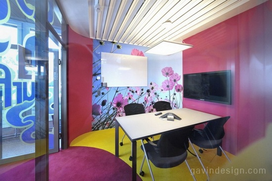 瑞士联合利华总部办公室设计 办公空间设计 办公室设计