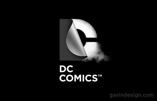 DC Comics(DC漫画)全新官方标识设计 标识设计