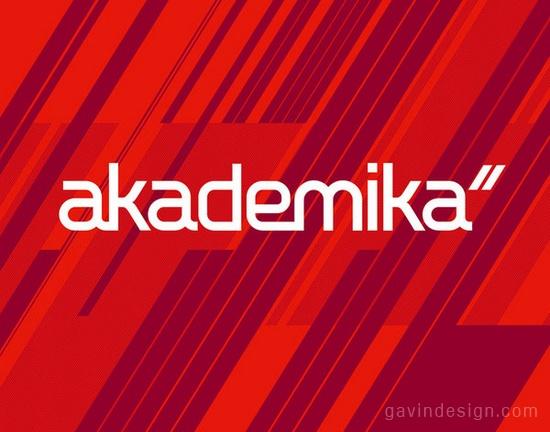 Akademika校园连锁书店设计 橱窗设计 品牌形象设计 书店设计 SI设计