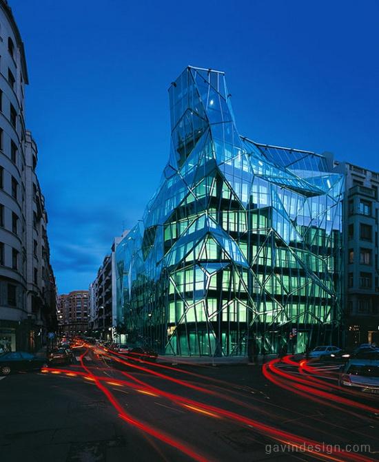 西班牙毕尔巴鄂basque总部设计 办公空间设计