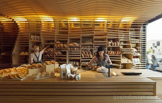 Baker D. Chirico面包店品牌SI设计 餐厅设计 面包店设计 专卖店设计 VI设计 SI设计