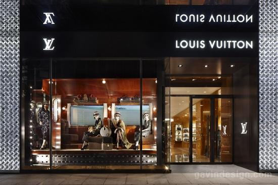 中国上海路易威登 (Louis Vuitton)之家 橱窗设计 旗舰店设计 商业空间设计