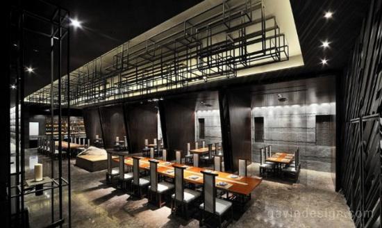 一家日本料理餐厅设计 餐厅设计 会所设计