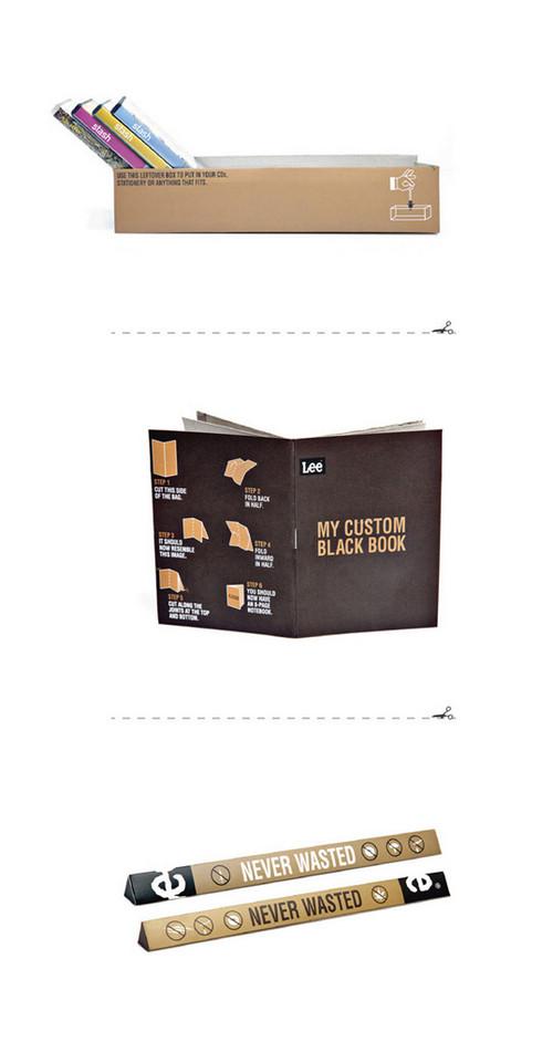 Never Wasted购物袋设计 画册设计 包装设计