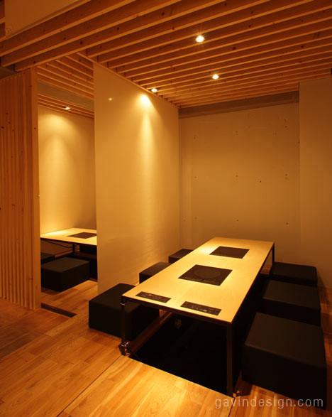日本广岛Kurogane餐厅设计 餐厅设计 商业空间设计