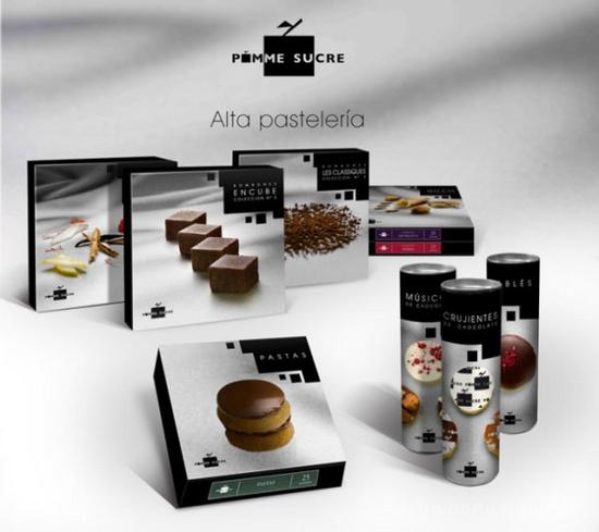 西班牙Pomme Sucre蛋糕商业空间设计 面包店设计 商业空间设计