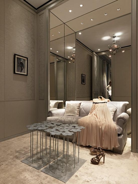 迪奥 (Dior) 台北101旗舰店设计 精品店设计 旗舰店设计 商业空间设计
