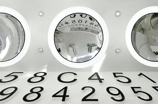 Adashot隐形眼镜店设计 店面设计 SI设计