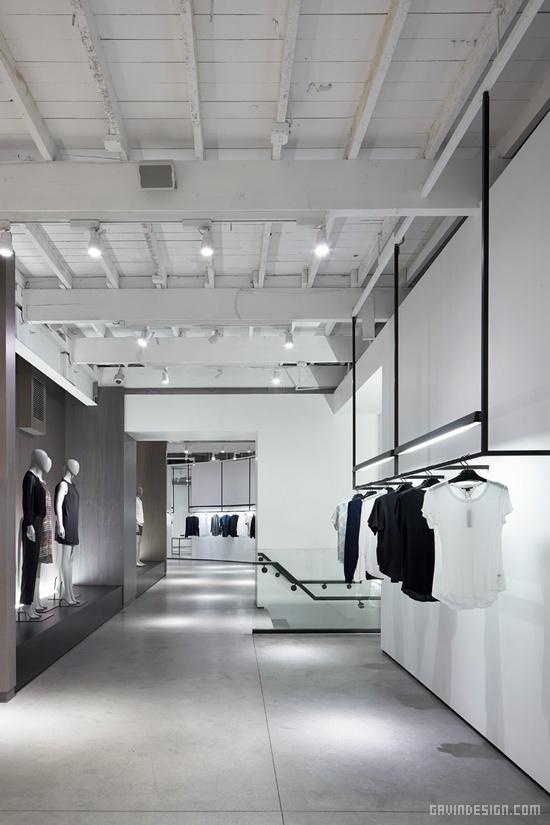 洛杉矶Theory旗舰店设计 橱窗设计 旗舰店设计 商业空间设计