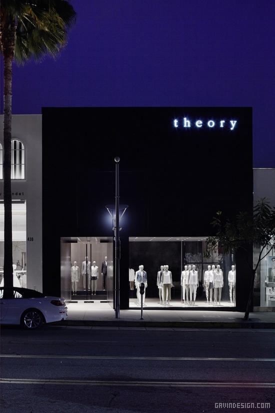 旗舰店设计_洛杉矶Theory旗舰店设计 | 戈者设计