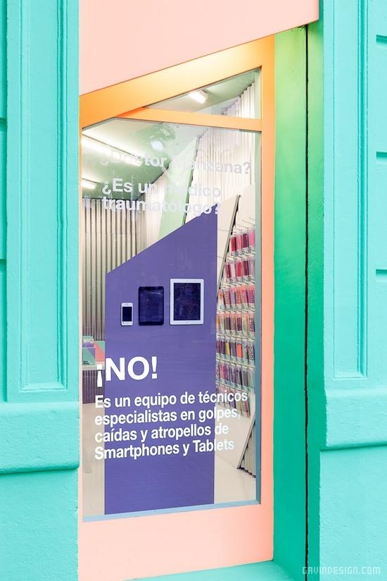 Doctor Manzana手机专卖店品牌设计 画册设计 手机店设计 品牌形象设计 专卖店设计