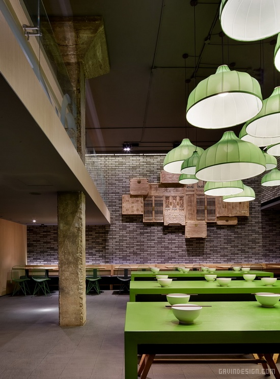 李先生北京崇文门餐厅店面设计 餐厅设计 连锁店设计 形象店 店面设计