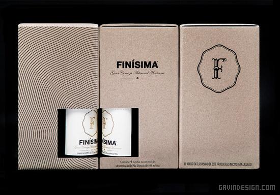 Finisima啤酒品牌形象设计 品牌形象设计 包装设计 VI设计 SI设计