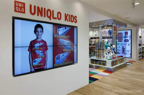 优衣库(UNIQLO)东京银座旗舰店 橱窗设计 旗舰店设计 店面设计