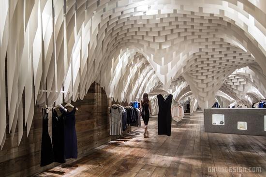重庆 SND 时尚店设计 服装专卖店 女装店面设计 专卖店设计