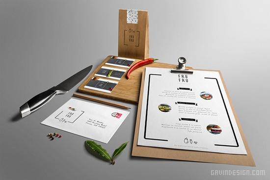 Frú Frú意大利餐厅品牌形象设计 菜单设计 海报设计 包装设计 VI设计