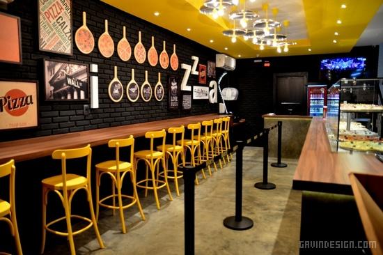 巴西 Nick 披萨店设计 餐厅设计 披萨店设计