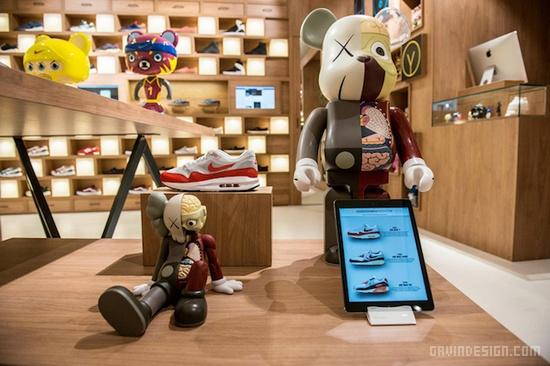 罗马 Holypopstore 概念店设计 鞋店设计 概念店设计 意大利 店面设计