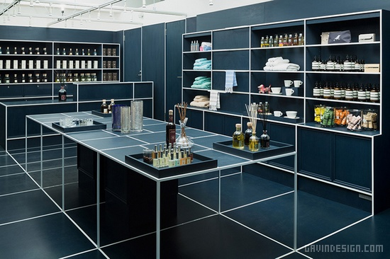 东京 Le MISTRAL 精品店铺设计 精品店设计 店面设计 家居店设计