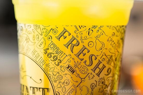 Gawatt咖啡连锁店品牌VI设计 标识设计 包装设计 VI设计