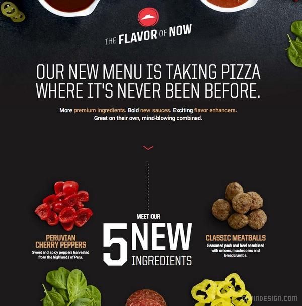 必胜客(Pizza Hut)全新品牌标识设计 标识设计 VI设计 SI设计