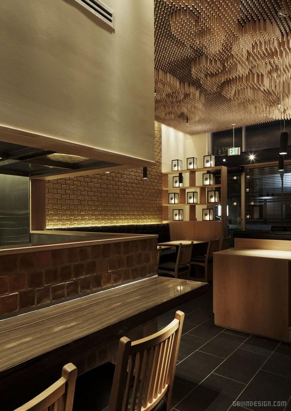 洛杉矶 Tsujita 餐厅设计 餐厅设计 美国 商业空间设计