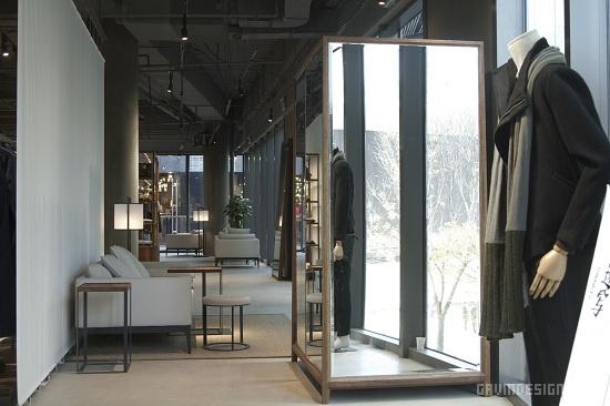 北京三里屯速写(CROQUIS)概念店设计 男装店设计 专卖店设计