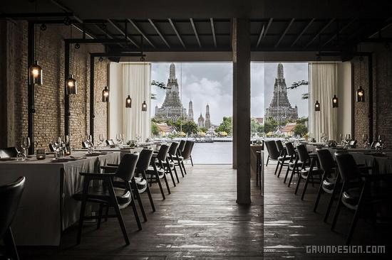 泰国曼谷萨拉拉坦纳可心酒店设计 酒店设计 酒吧设计 泰国
