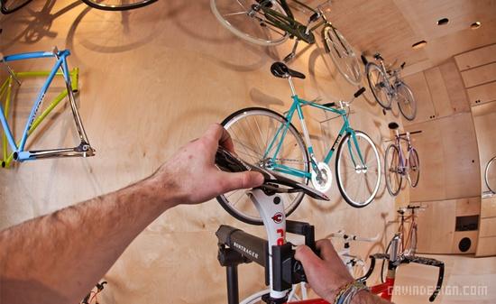 罗马尼亚 PUMP 自行车店设计 自行车店设计 概念店设计 专卖店设计