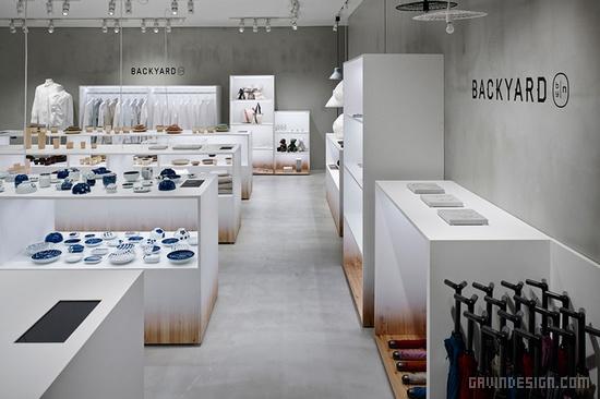 日本 Backyard by|n 店面设计 连锁店设计 日本 女装店设计 商业空间设计