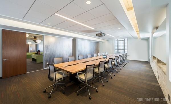 美国旧金山 Twitter 办公室设计 美国 办公空间设计 办公室设计