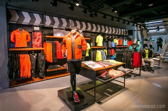 台中 Nike 旗舰店设计 耐克店设计 旗舰店设计 台湾 中国 专卖店设计